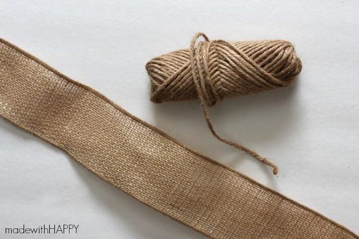 burlap-bows