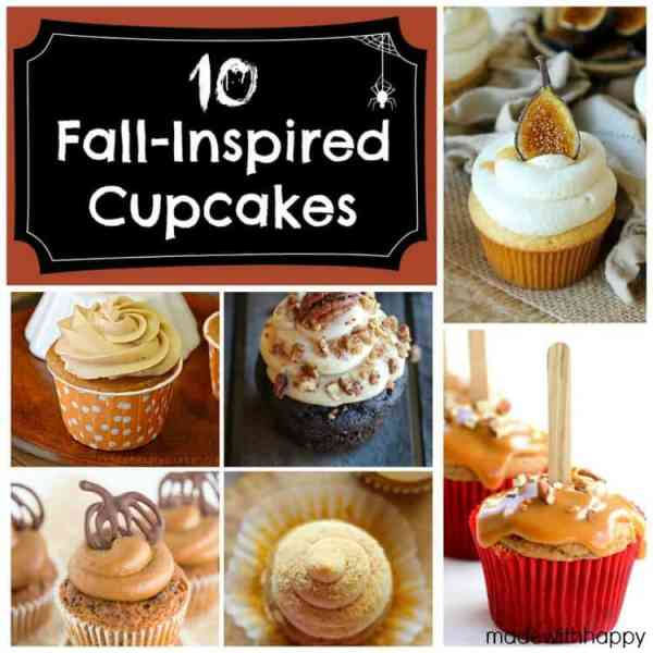 10 Fall-Inspired Cupcakes