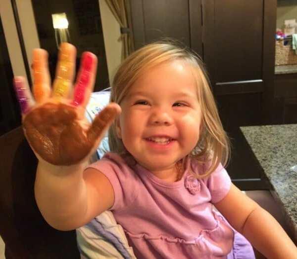 Super Cute Turkey Handprints