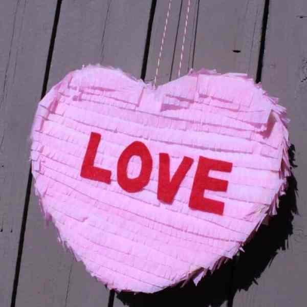 Individual Heart Pinata