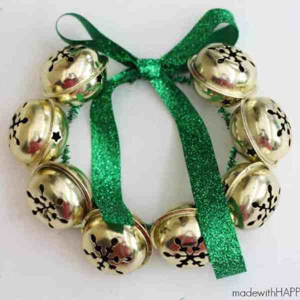 Jingle Bells Wreath Ornament