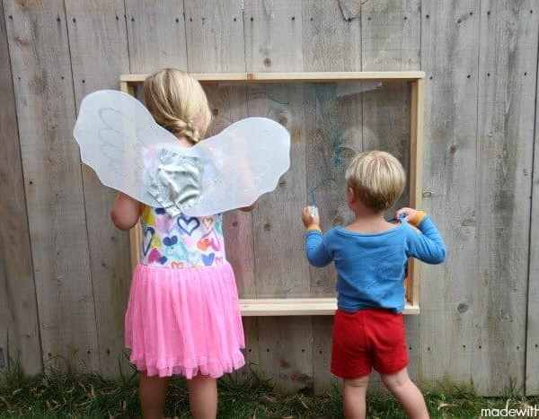 How to Make Outdoor Easel