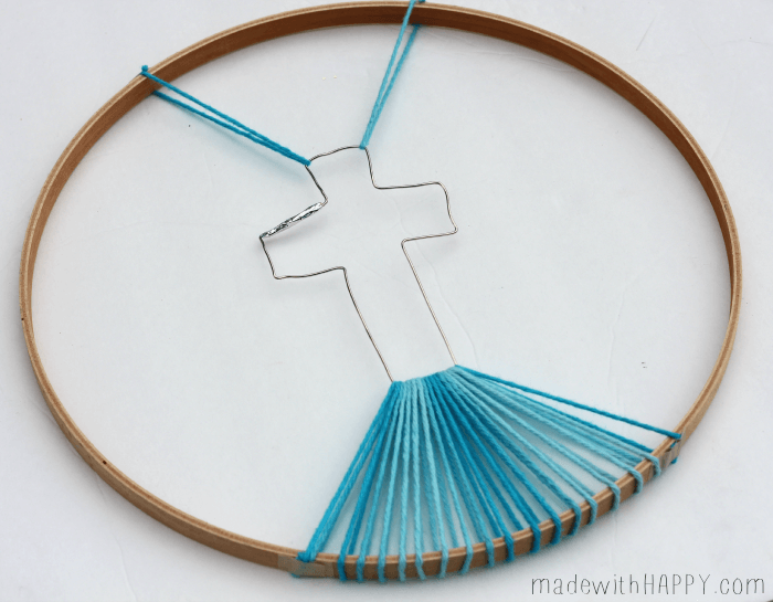 string-art-cross