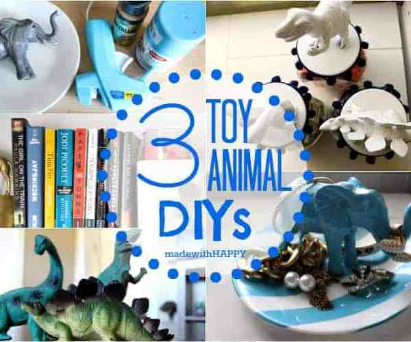 3 DIY Decor Projects Using Toy Animals