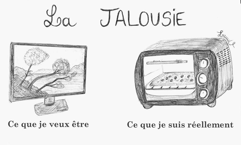 jalousie télévision four