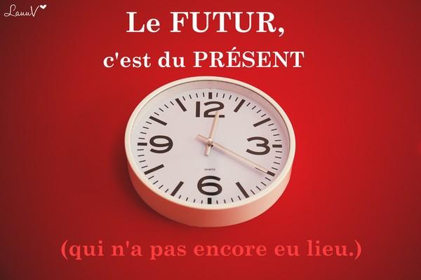 futur présent