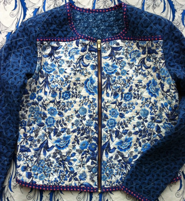 Mad For Fabric DIY Quilted Jacket
