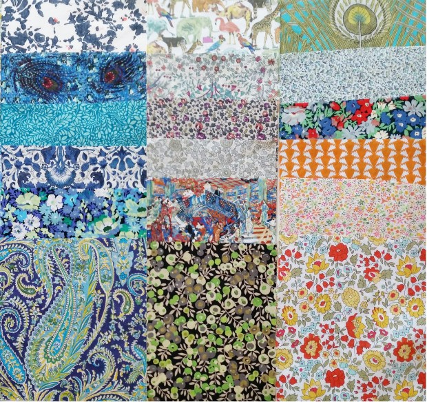 MadForFabric - 30 Piece 5in Scrap Pack Remain 18