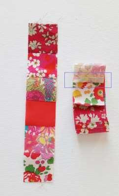Mad For Fabric - Liberty Strips Sewn Cut 1.25in strips