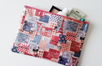 Mad For Fabric - DIY Laminate Fabric Pouch
