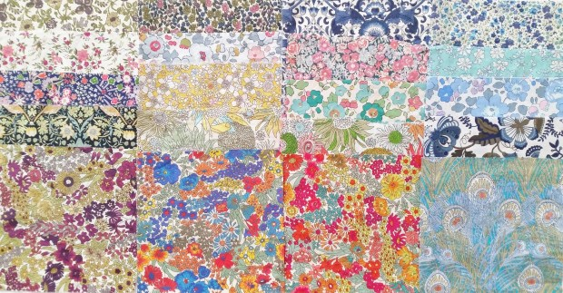 MadForFabric - Liberty Charm Pack 20 Piece Assorted