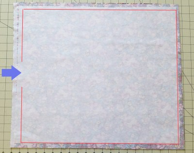 Mad For Fabric - Fabric For Box with Interfacing One Side