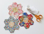 Mad For Fabric - No Sew Hexie Paper Piecing Tutorial