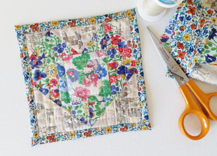 Mad For Fabric - Mini Heart Quilt
