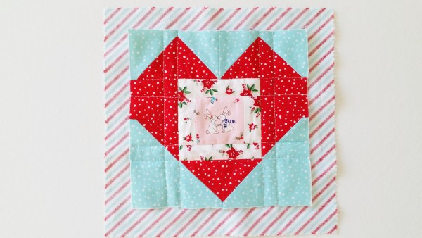 Mad For Fabric Fussy Cut Block with Self Backing