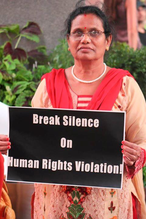 Break Silence on Human Rights Violation