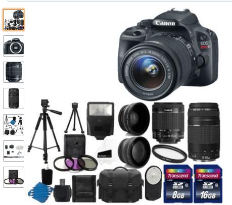Camera for Bikram Rauniyar - Canon EOS Rebel SL1
