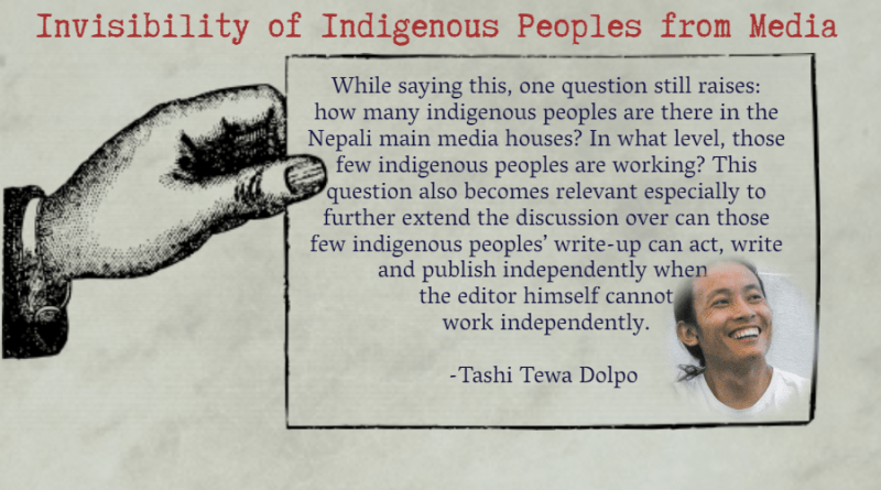 Invisibility of Indigenous Peoples from Media