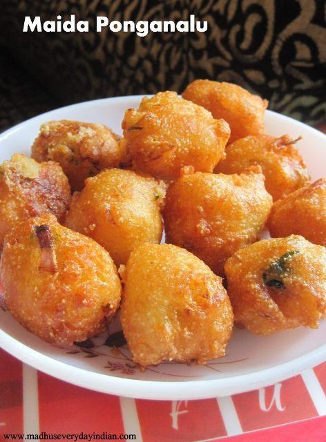 maida ponganalu is a tasty evening snack