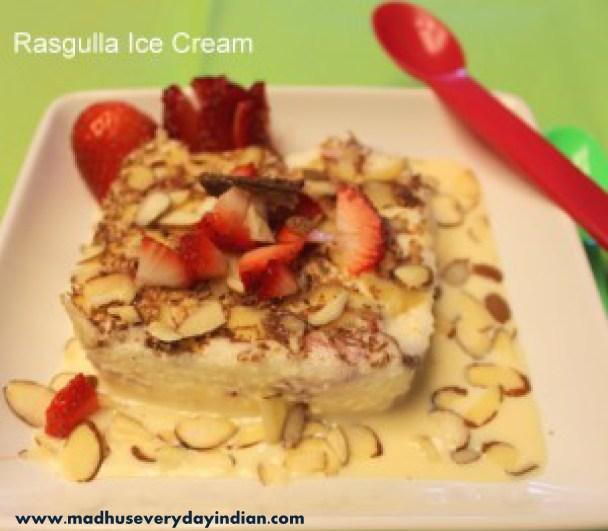rasgulla ice cream