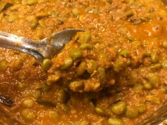 edamame curry