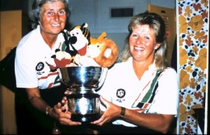 Vice Captain Elsie Brown and Captain Diane Bailley