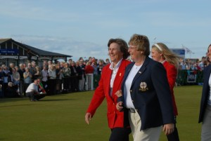 Legends-in-arms, CST and MMC team captains at St Andrews in 2008