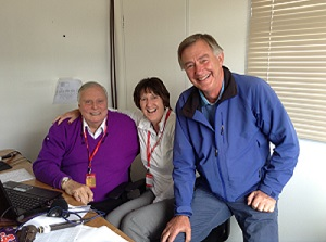 Always fun with Peter Alliss and Ken Brown