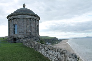 The iconic Mussenden Temple
