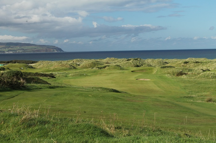 The breathtaking 17th at Castlerock