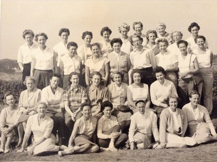 RPGC - Ladies' Branch circa 1959