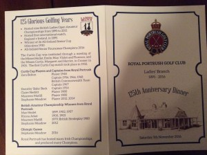 125 Glorious Golfing Years