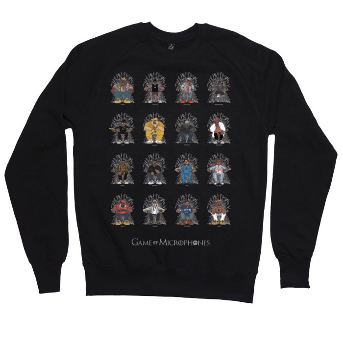 Game of Microphones Sweatshirt