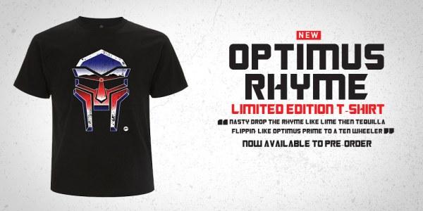 MFDOOM Transformers Optimus Rhyme