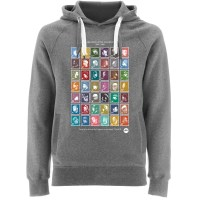 Goldenera Hiphop Stamps Hoodie Grey