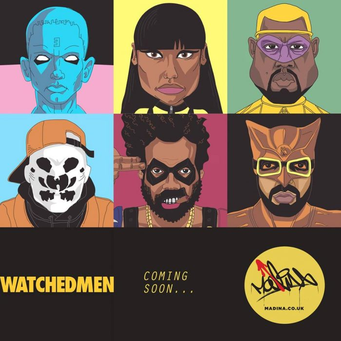 The Watchmen of HipHop Series by Madina Design