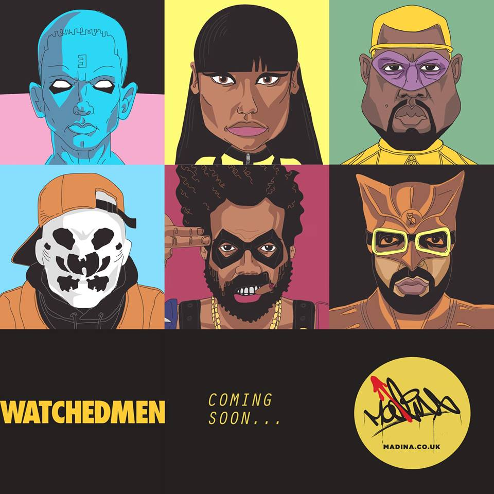 The Watchedmen HipHop Series by Madina Design