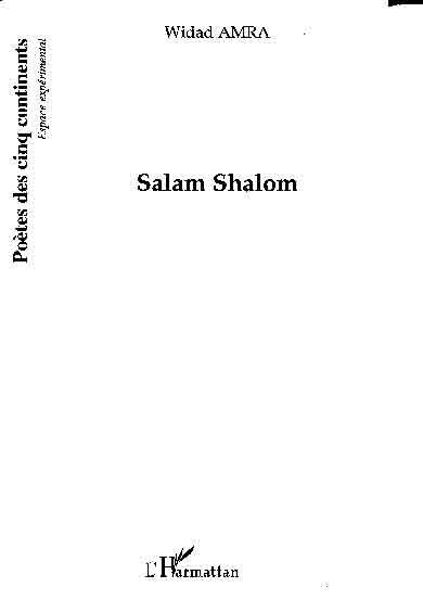 Salam Shalom de Widad AMRA