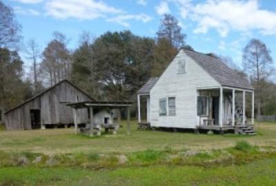 BR Rural Life Museum 4 (Barn + Acadian House)