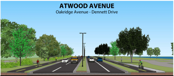 The new design for Atwood Avenue