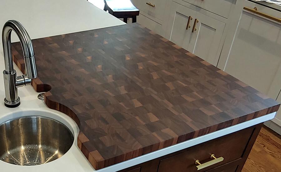 wood countertops in kansas city wood