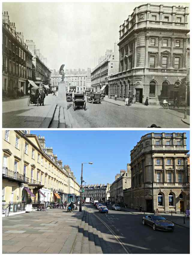 George St then and now