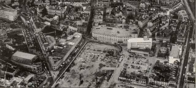 Aerial photos of Bath