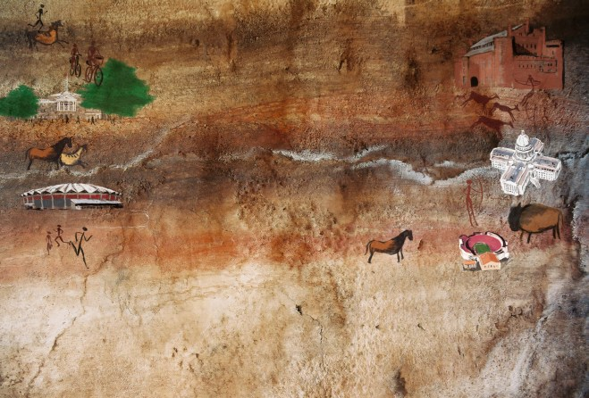 Madison cave painting
