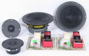 Seas Mimir 2Way Speaker Kit  Pair  Parts Only