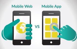 mobile app or responsive mobile website