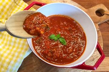 Den fantastiske italienske Marinara sauce