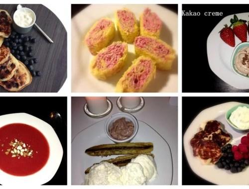 Ideer til kalorielette desserter
