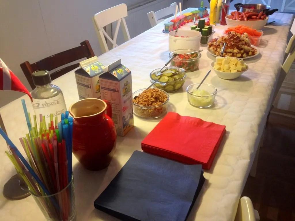 mad børnefødselsdag