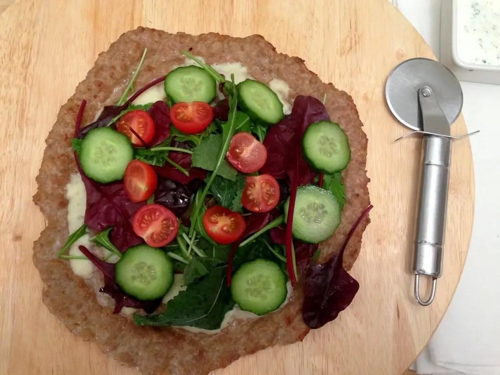 Meatza - pizza uden kulhydrater